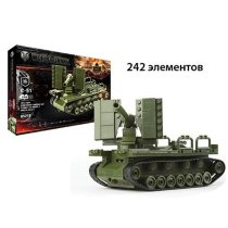 Конструктор World of Tanks C51 242 деталей