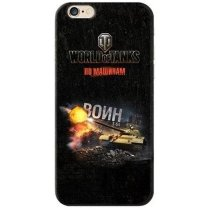 "Чехол ""Воин"" для Apple iPhone 6/6S World of Tanks"