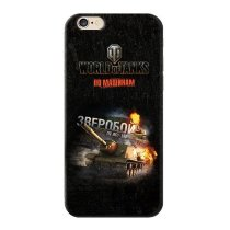 "Чехол ""Зверобой"" для Apple iPhone 6/6S World of Tanks"