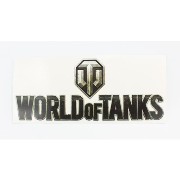 "Наклейка логотип ""World of Tanks"""