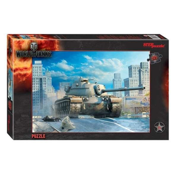 "Пазл ""World of Tanks"" танк T110 360 деталей"