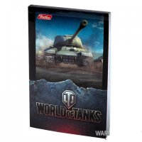 "Блокнот World of Tanks ""ИС"" 48 л. А7"