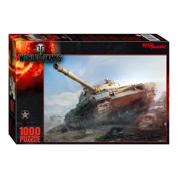 "Пазл ""World of Tanks"" 1000 деталей"