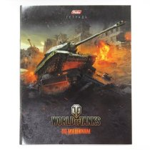 "Тетрадь World of Tanks ""ИС-4"" Выпуск №2 48л. А5ф клетка"