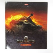"Тетрадь World of Tanks ""ИС"" Выпуск №2 48л. А5ф клетка"