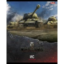 "Тетрадь World of Tanks ""ИС"" Выпуск №1 48л. А5ф клетка"