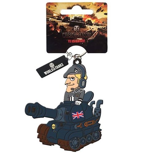 Брелок World Of Tanks PVC Танк Great Britain