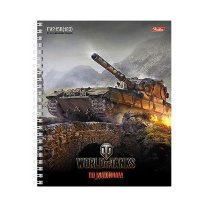 Тетрадь World of Tanks FV215B 183 (клетка, спираль, А5, 96л)