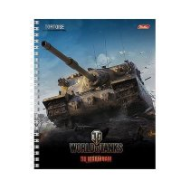 Тетрадь World of Tanks TORTOISE клетка спираль А5 96л