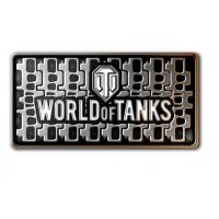 Значок World of Tanks «Гусеница»