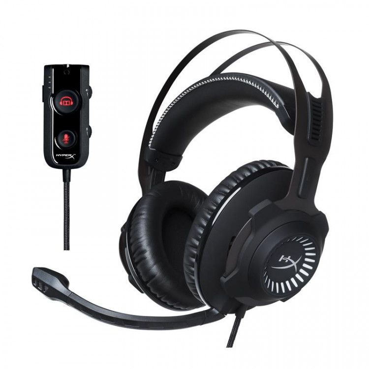 Игровая гарнитура HyperX Cloud Revolver S 7.1 Headset Black