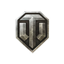 Наклейка в виде щита World of Tanks